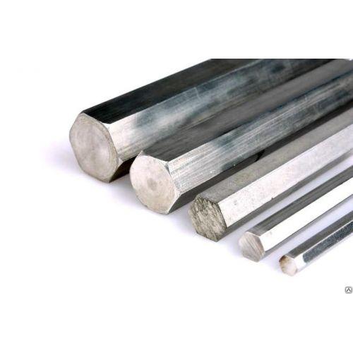 Aluminium hexagon Ø 13-36mm Aluminium sekskantet stang, valgbar 6-sidet aluminium stang, hexagonal, aluminium