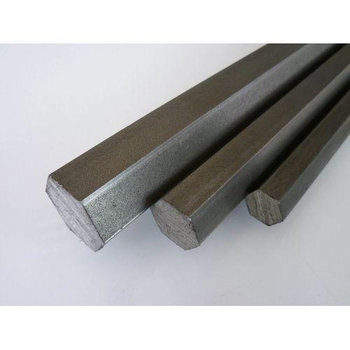 Rustfrit stål hexagon SW 18mm-60mm 1.4305 stang hexagon VA V2A 303 hexagon stang, rustfrit stål