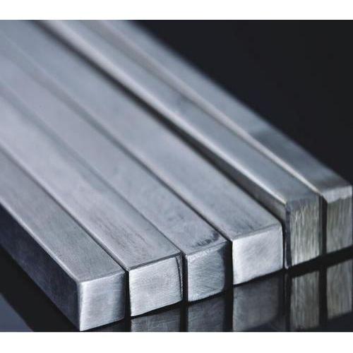 Rustfrit stål firkantet stangstang fuldt materiale firkantet stang profilstang V2A,  rustfrit stål
