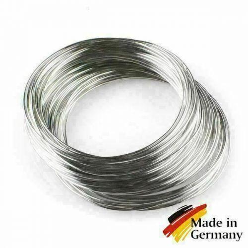 Fjederståltråd 0,1-10mm fjedertråd 1,4310 rustfrit stål 301 rustfrit 1-200 meter,  rustfrit stål