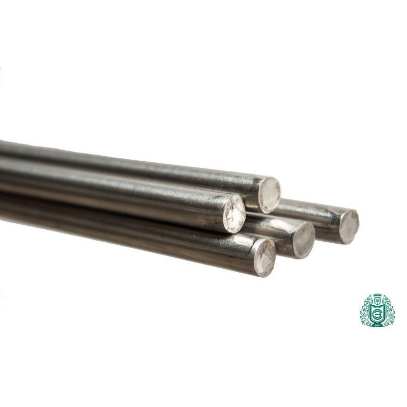 Fjederstålstang Ø0.4-3.5mm rustfrit stål 1.4310 Aisi 301 rundstangsprofil,  rustfrit stål