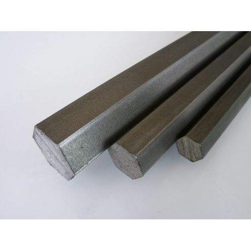 Rustfrit stål hexagon SW 4mm-17mm 1.4305 stang hexagon VA V2A 303 hexagon stang, rustfrit stål