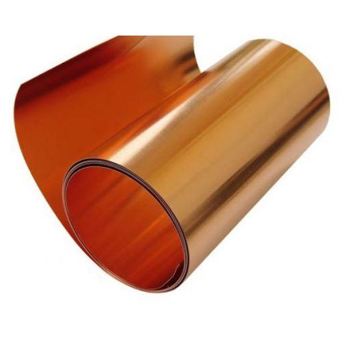 Kobber tape 0,1 x 600 mm kobber klæbebånd 0,1 meter til 100 meter, kobber