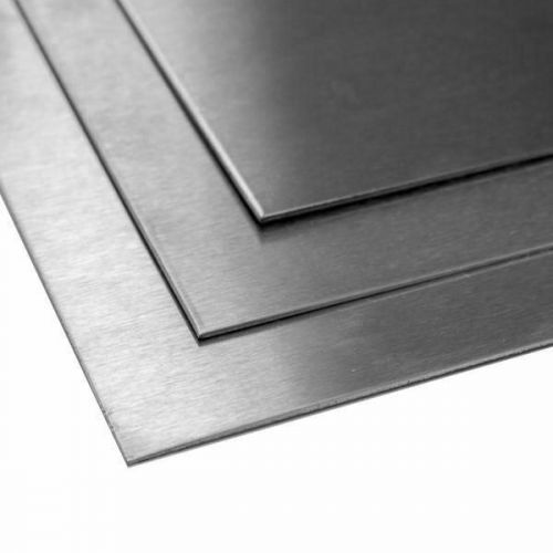 Titanium ark 3mm 3.7035 Grade 2 ark Ark skåret 100 mm til 2000 mm, titanium