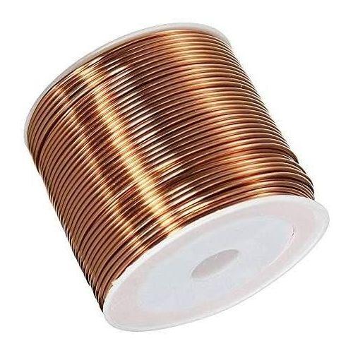 Kobbertråd Ø0.05-2.8mm emaljeret tråd Cu 99.9 wnr 2.0090 håndværkstråd 2-750 meter, kobber