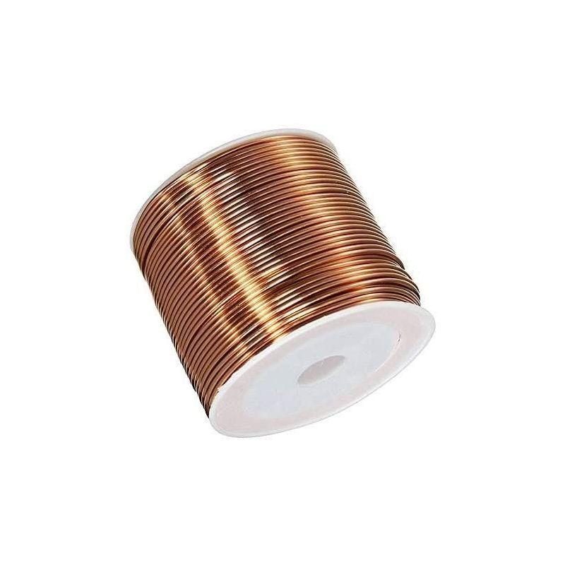 Kobbertråd Ø0,05-2,8 mm emaljeret ledning Cu 99,9 wnr 2.0090 håndværkstråd 2-750 meter, kobber