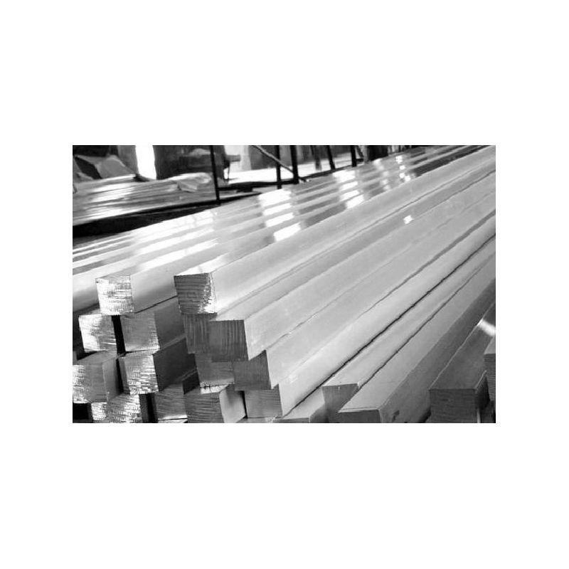 Firkantet stang St35 Ø5x5-40x40mm stål firkantet stang Fe firkantet stål massivt materiale 2 meter,  stål