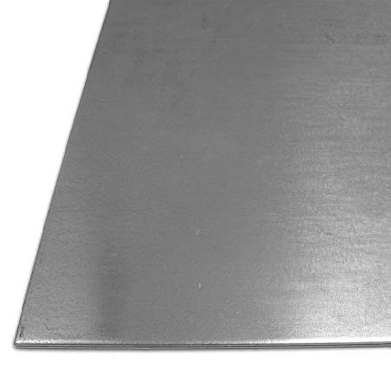 Pladestål 1mm galvaniserede plader stålpladejern 100 mm til 2000 mm,  stål