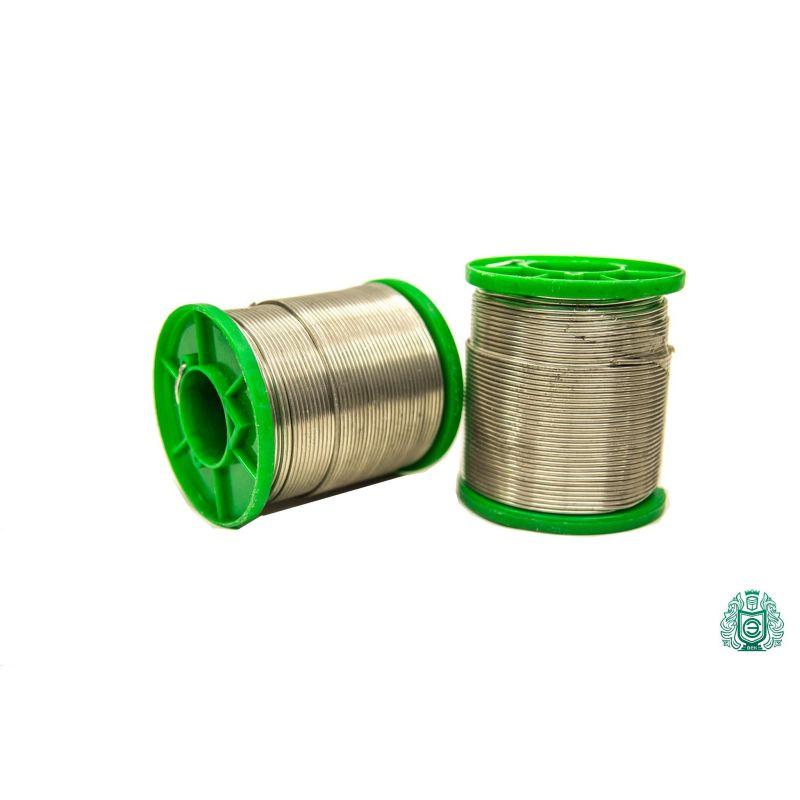 Sn99.3Cu0.7Ni Loddetråd 1mm med væske 25g-1 kg,  Svejsning og lodning