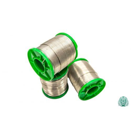 Loddetin SnAg2.5 sølvtråd dia 2mm uden flydende blyfri 25gr-1 kg,  Svejsning og lodning