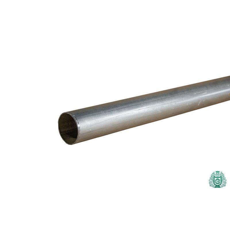 Galvaniseret stålrørkonstruktion rørrækning gevind metal rund Ø 50x1.4mm
