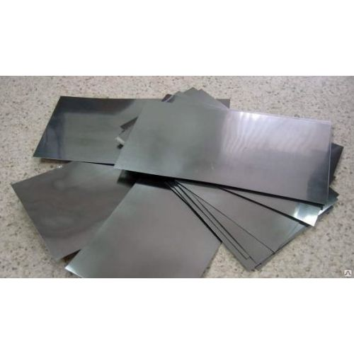 Kadmium 99,9% ren anodepladeplade 6x300x50-8x300x500mm elektropletteringselektrolyse
