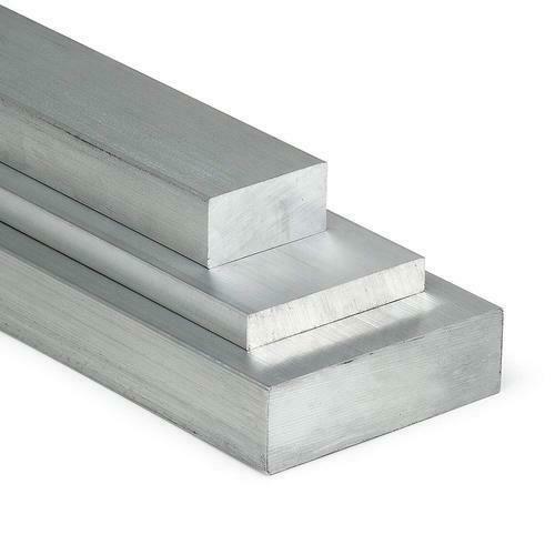 Flad aluminiumstang 20x2mm-100x40mm AlMgSi0.5 fladt materiale aluminiumprofil fladt æg