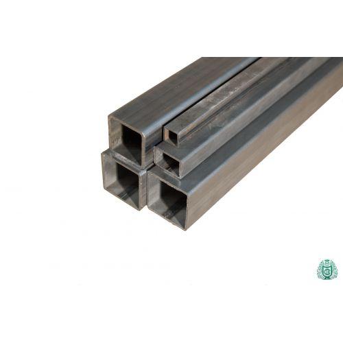 Firkantrør stålrør hul profil stål firkantrør dia 12x12x1,5 til 100x100x3 2,5-5 meter