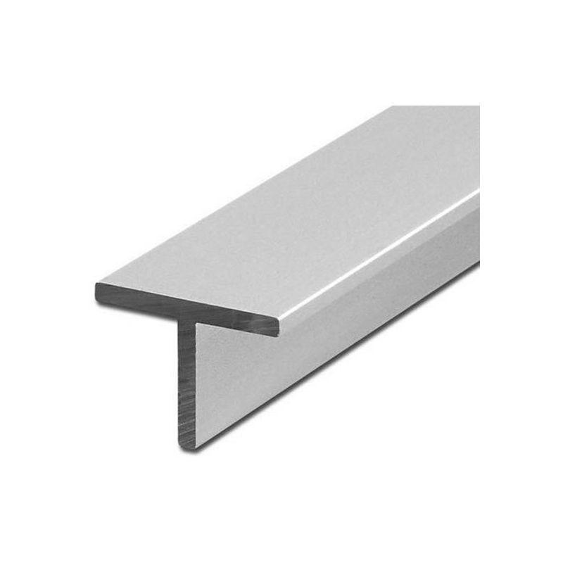 Aluminium T-profilvinkel ligebenede 40x40x5mm alu 0,25-2 meter