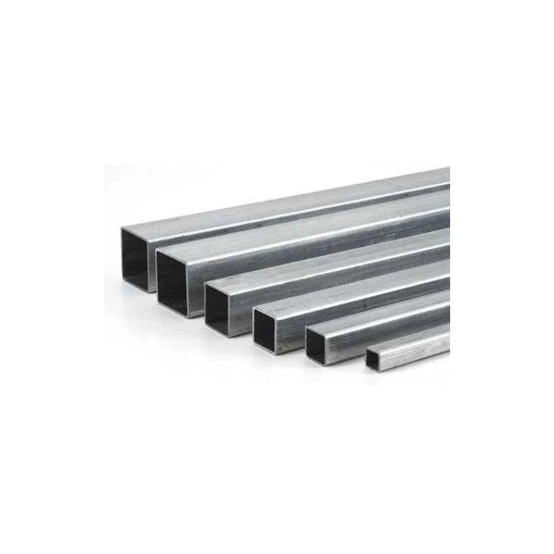 Rustfrit stål 304 firkantrør 20x20x1,5mm-160x80x3mm firkantrør 2 meter