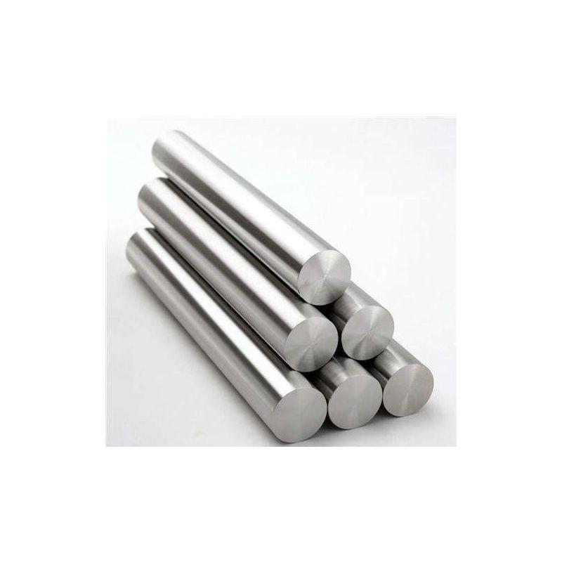 Gost 12h18n10t bar 2-120mm rund bar 12x18h10t profil rund stål bar 0,5-2 meter