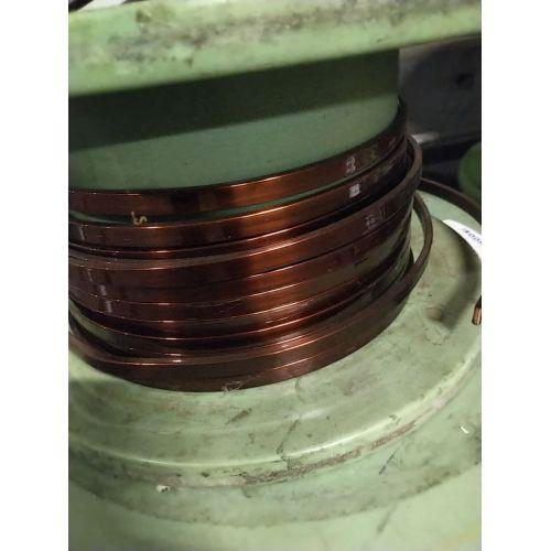 Flad emalje Ø 5-18 mm kobbertråd W200 flad stang Cu 99,9% emaljeret trådtråd