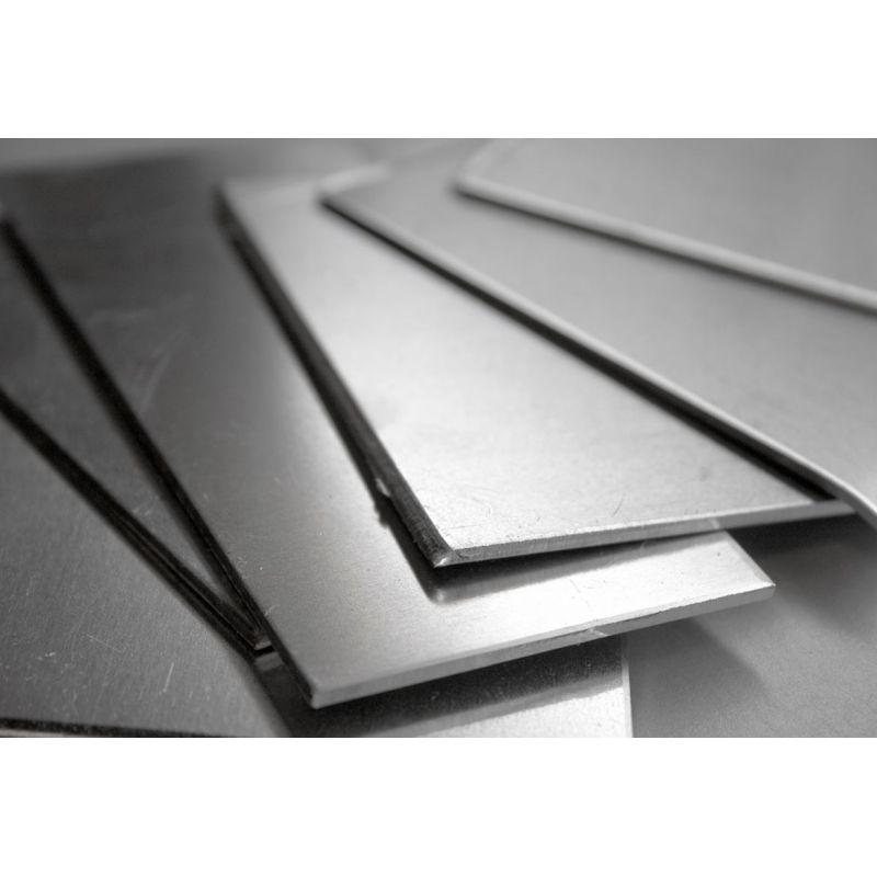 Nikkel 200 ark 0,5-1 mm afskårne ark 2.4060 Legering 200 Ni 99,9% 100-1000 mm
