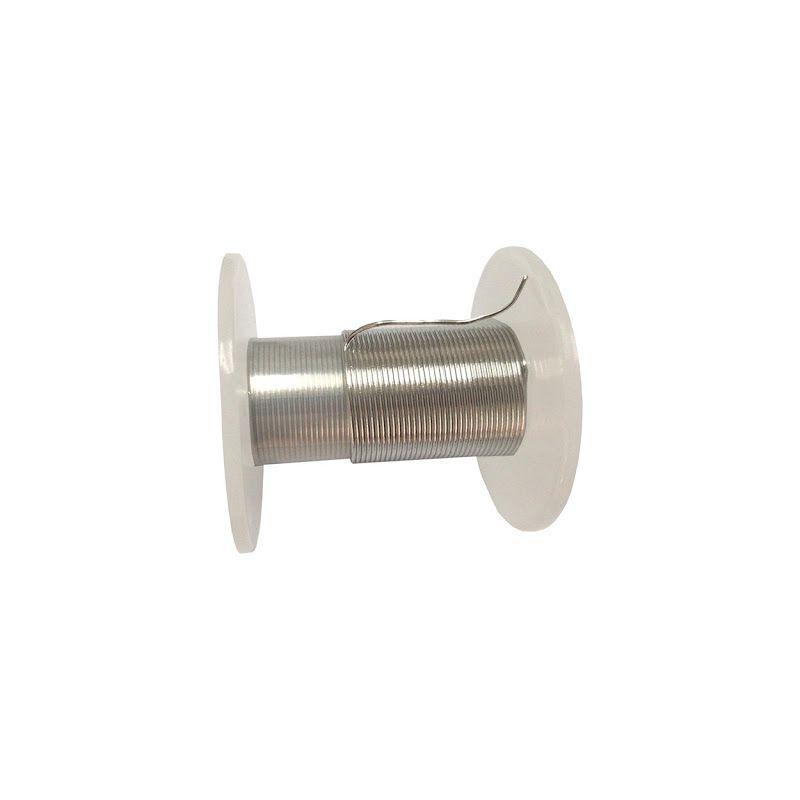 Indiumtråd 99,9% fra Ø 0,5 mm til Ø 5 mm rent metalelement 49 Tråd