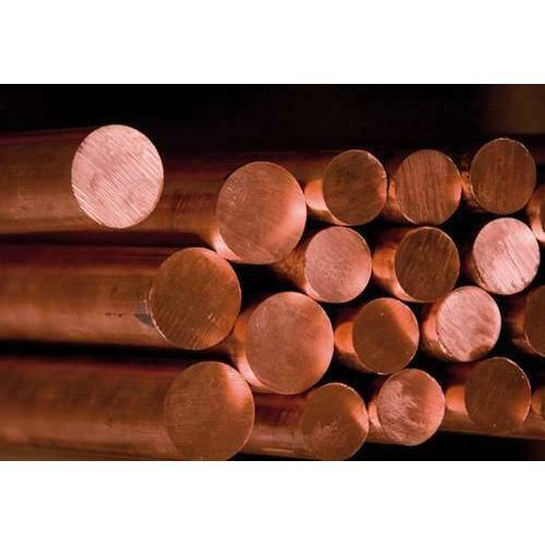 Stang Ø2-40mm kobber 2.0090 rund stang С10999 stang Cu rundt materiale 2 meter