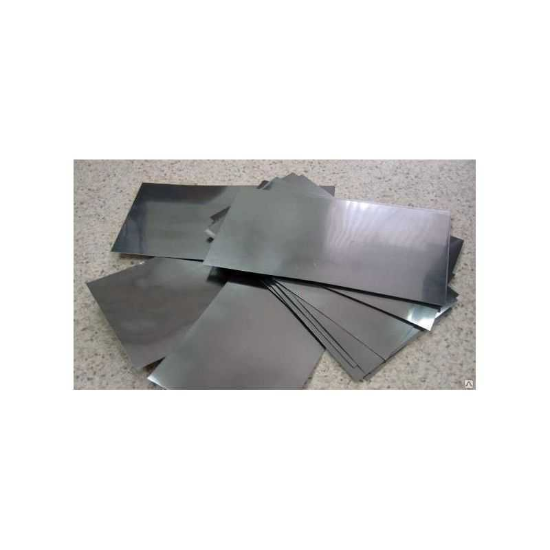 Cadmium 99,9% ren anodeplade 10x300x1000mm galvaniseringselektrolyse
