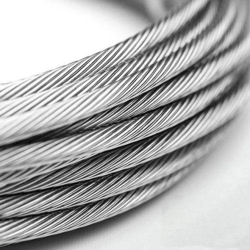 Rustfrit ståltråd 1-8mm V4A 1.4401316 7x7 og 7x19 ståltov 5-250 meter