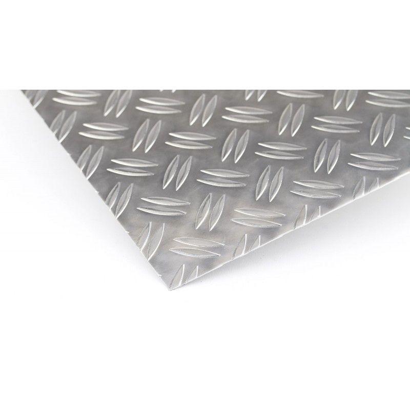 Flad stang af aluminium Duett 1,5 meter AlMgSi0.5 plader afskåret strimler