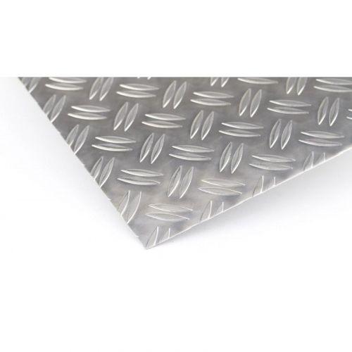 Flad aluminiumsstang 2 meter kvintet plader afskåret strimler