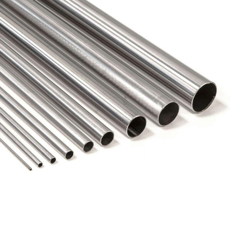 Titaniumrør klasse 2 runde 6-16mm 3.7035 klasse 2 rørstørrelse 2 anti syre 0,1-2 meter