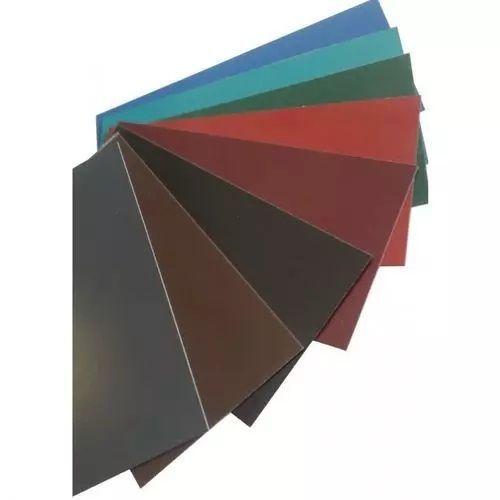 Stål flad stang 0,5 mm farve strimler metalplade skåret til størrelse 0,5-1 meter
