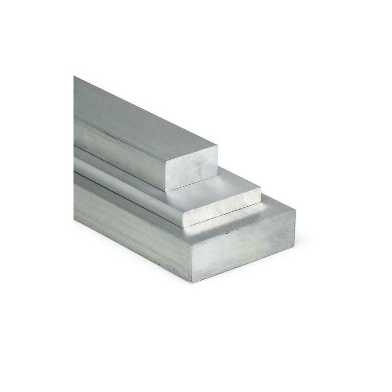 Flad aluminiumsstang 30x2mm-5x12mm 0,5-2 meter strimler af metalplader skåret i størrelse