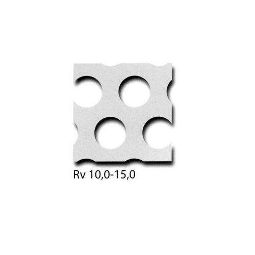Perforeret aluminiumsplade RV3-5 + RV5-8 + RV10-15 paneler kan skæres til størrelse, ønsket størrelse mulig 100 mm x 700 mm