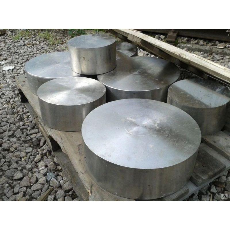 Rustfrit stål rund ark 20mm 1.4571 rund skive 316Ti rund stålstang Ø 100-300mm