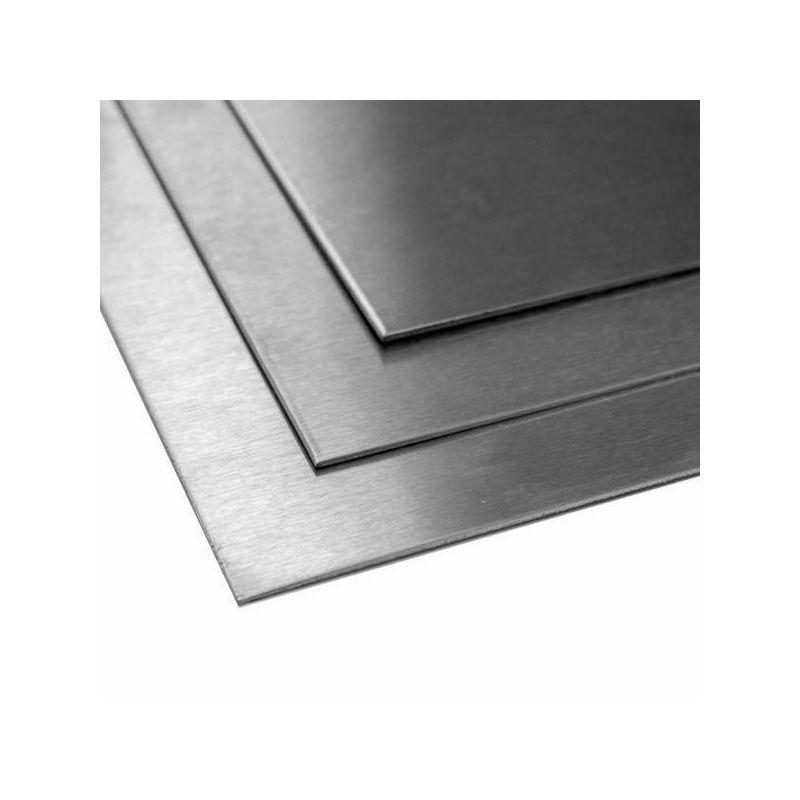 Titaniumplade grade 5 8 mm plade 3.7165 Titaniumplade skåret 100 mm til 2000 mm