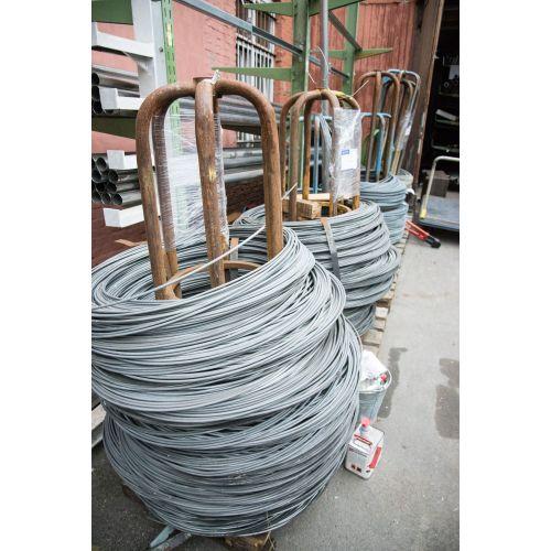 Spændingstråd 0,6-8mm bindetråd galvaniseret jernblomster tinker mesh 10-500 meter, stål