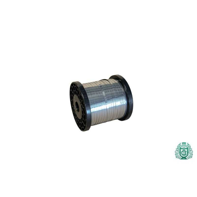 Nichrome tape 0.1x0.5mm - 0.5x10mm metalplade 2.4869 fladtråd 1-100 meter,  Nikkellegering