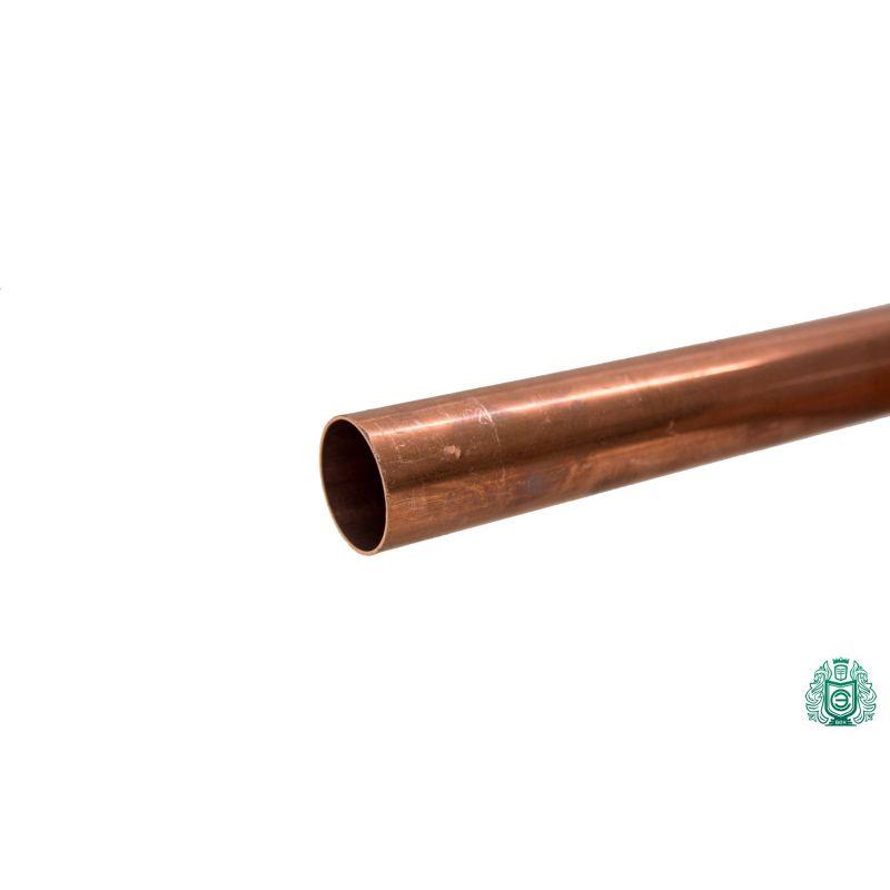 Kobberrør 3x0.5mm-54x1.5mm stang 2.0090 Aisi C11000 opvarmning drikkevand 0,1-2 meter, kobber