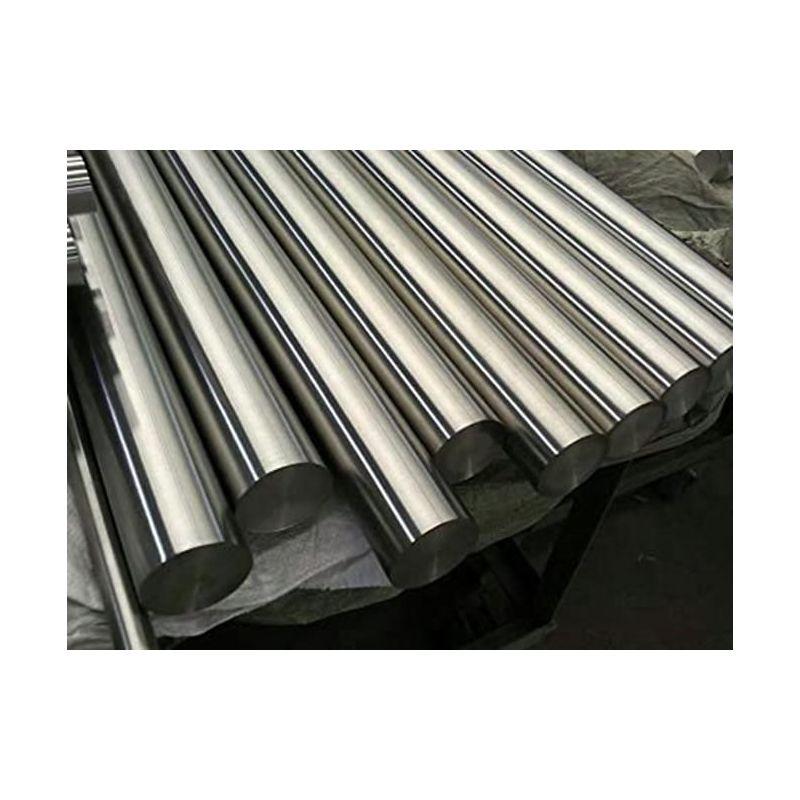 Rund stang af nikkel 200 metal 99,9% fra Ø 2 mm til Ø 120 mm Ni element 28, nikkellegering