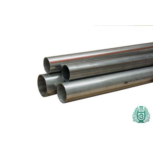 Rustfrit stålrør 14x0.5mm 1.4541 Aisi 321 rundrør metal konstruktion gelænder 0,25-2 vandrør,  rustfrit stål