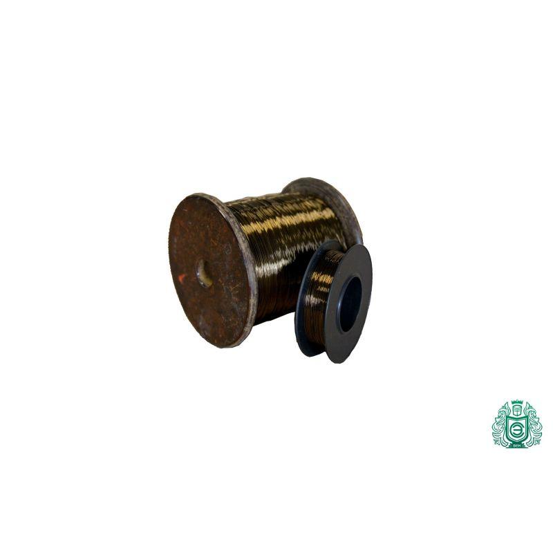 Constantan ledning Ø0.04-0.45mm Modstandstråd 2.0842 CuNi44 varmetråd 2,5-100 meter, nikkellegering