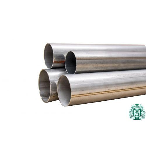 Rundt rør 1.4301 Aisi 304 Ø15x2.5-101.6x2mm rustfrit stålrør V2A udstødningsrækværk 0,25-2 meter, rustfrit stål