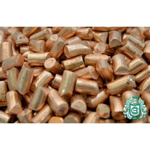 Kobbergranulat 99,9% element 29 kobberstykker støbt rent metalstøbning 25gr-5kg, kategorier