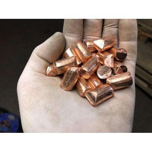 Kobbergranulat 99,9% element 29 kobberstykker støbt rent metalstøbte 25gr-5 kg,  Kategorier